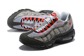 nike air max 95 femmes hommes sport 2000 gray brown